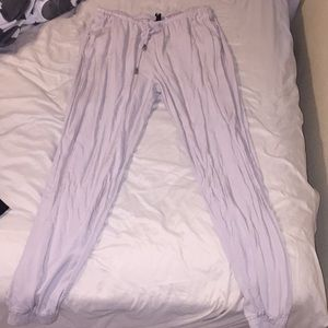 Loose creme color pants